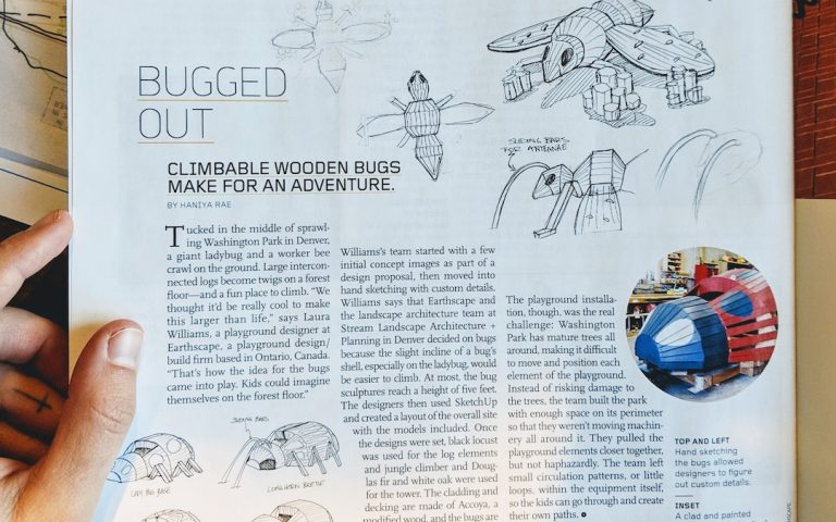 magazine earthscape backstory feature article washington park