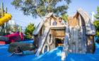 St. Pete Pier wood playground shipwreck sculpture imagination play