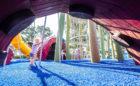 St. Petersburg Pier Florida destination playground kraken octopus tentacle sculpture log tower
