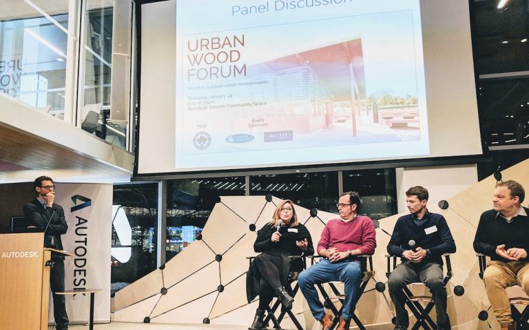 Urban Wood Forum 2019 Panel Discussion