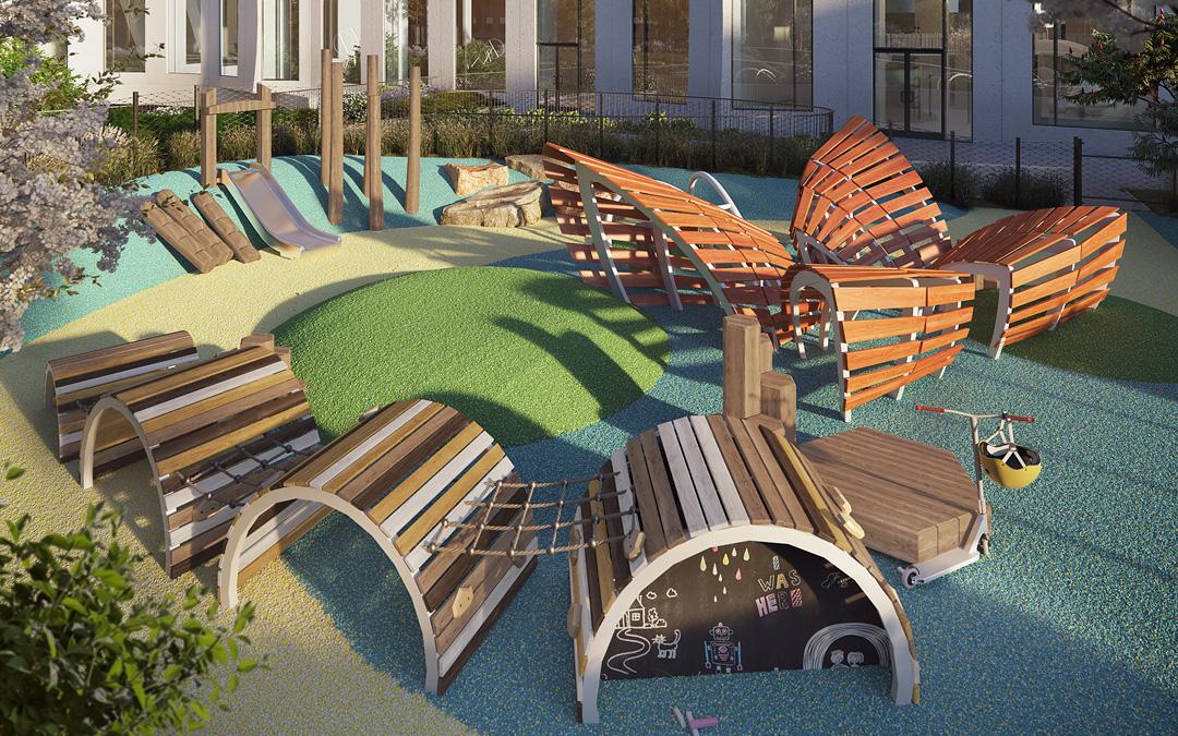 11 Hoyt Street Rooftop Playground