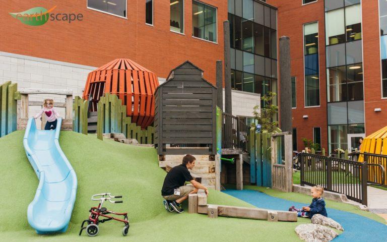 Ron Joyce Children's Centre Therapeutic Playground