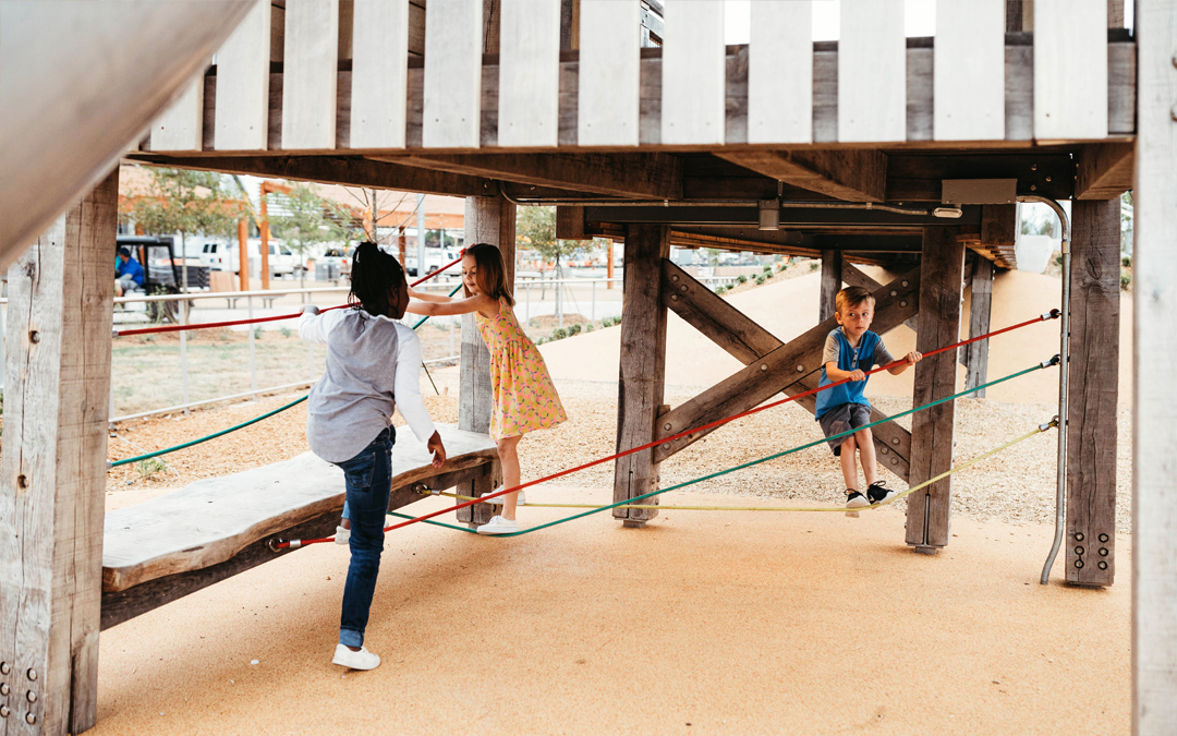 play under the tower at scissortail park oklahoma city