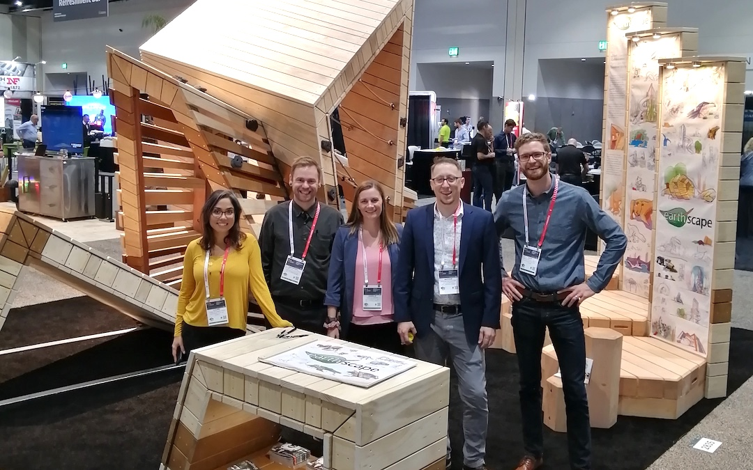 EXPO ASLA 2019 Earthscape booth and team