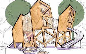 georgetown-day-school-triplet-towers-playground