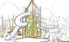 john ball zoo grand rapids mi custom tower design sketch