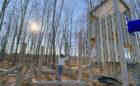 Walter Henry West Orillia park custom tower robinia log jam climber