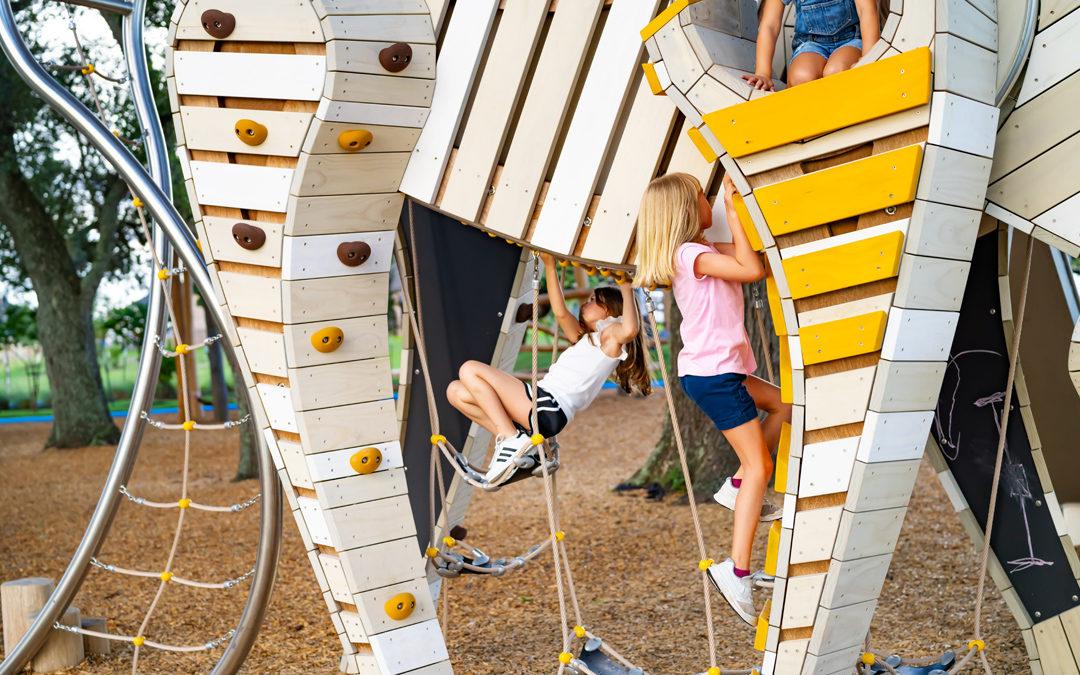 custom wood sculpture grazing arabian horse rope rubber climber chalkboard steel net tail