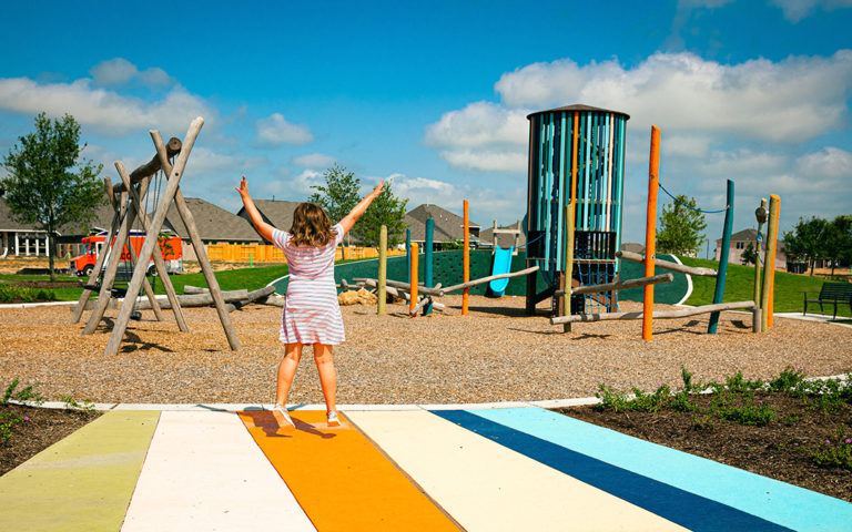 Elyson Texas master planned community custom playground design build