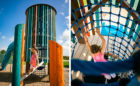 Elyson Texas master planned community playground tower net climbing