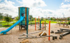 texas playground tower log climber planned community
